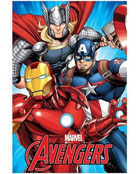 MERKURY MARKET Flísová  Deka100x150  Avengers