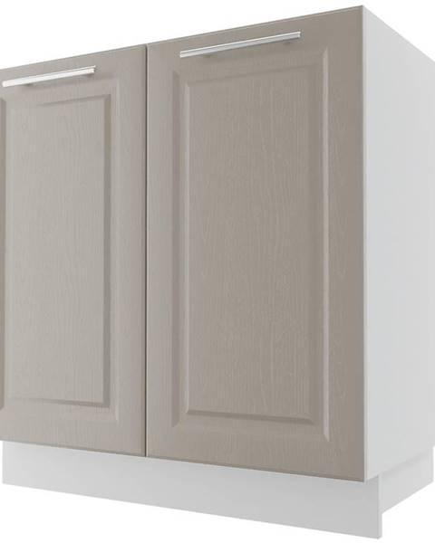 MERKURY MARKET Skrinka do kuchyne Emporium D8Z/80 Grey stone