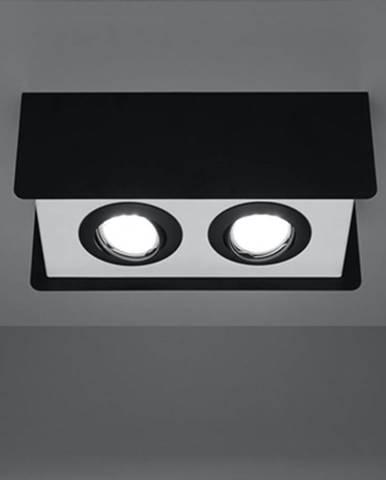 Stropná Lampa Quadro 2 BLACK A-410
