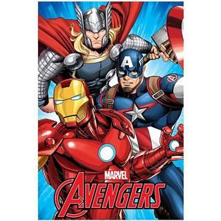 Flísová  Deka100x150  Avengers