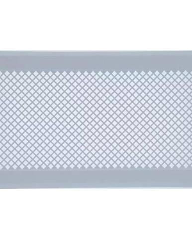 Vetracia mriežka K4-ML-B  biely rám 195x335