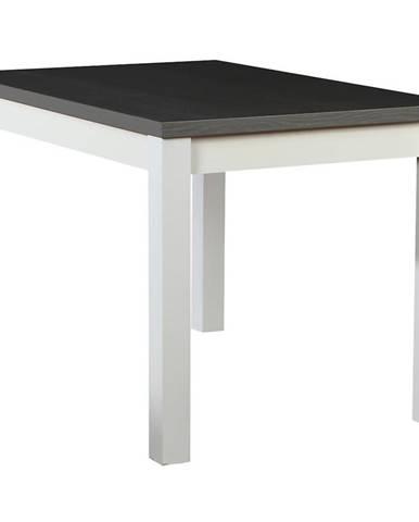 Stôl ST30 120X80 L biely/grafit