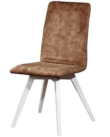 Stolička W116 biely livia 5