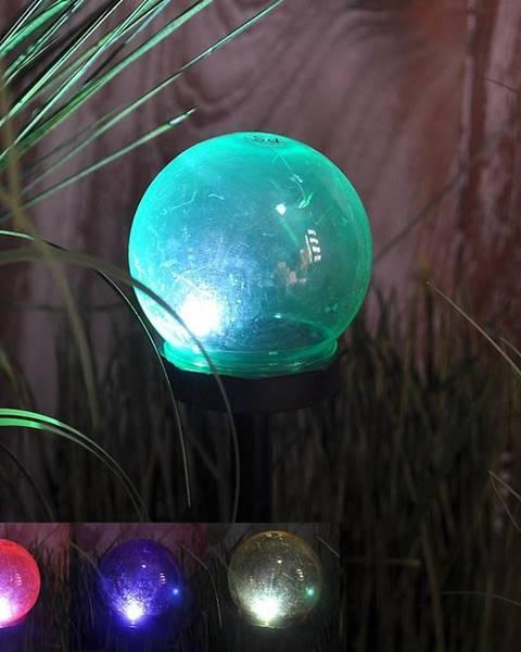 MERKURY MARKET Solární svítidlo 1LED BY-131583 guľka mix 10