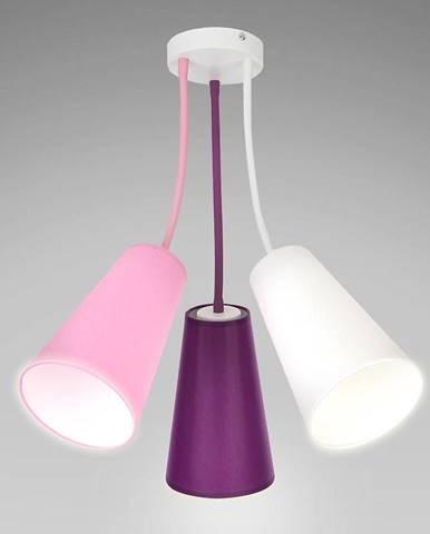 Luster Wire Kids 1711 biela/ružový/fialový LW3