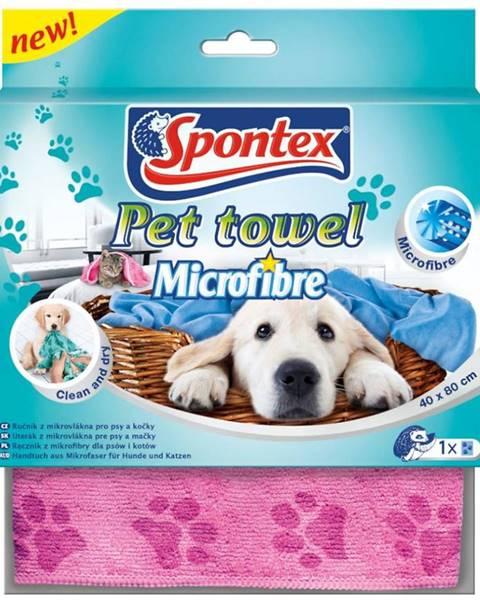 MERKURY MARKET Veľký uterák z mikrovlákna Pet Towel 40x80 cm