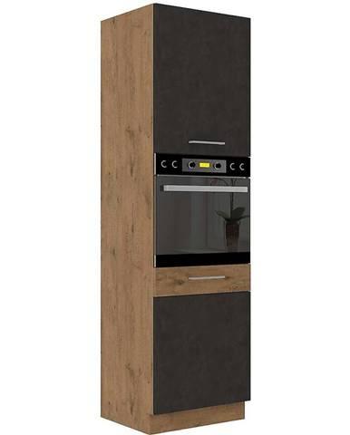 Skrinka do kuchyne VIGO grafit mat 60DP-210 2F