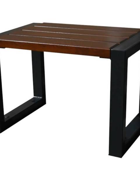 MERKURY MARKET Moderná stolička bez operadla orech