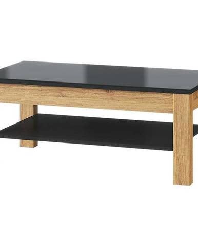 Konferenčný stolík 41 Kama dub camargue/čierna mat