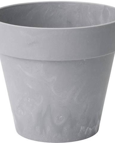 Kvetináč  Ibiza beton jasný 14 cm