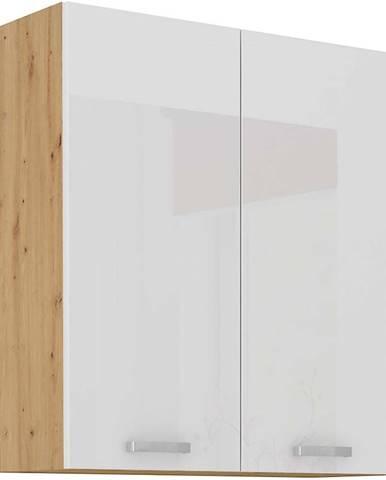 Skrinka do kuchyne ARTISAN biela lesklá 80G-90 2F