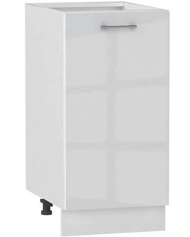 Skrinka do kuchyne Alvico D40 P/L luxe blanco BB