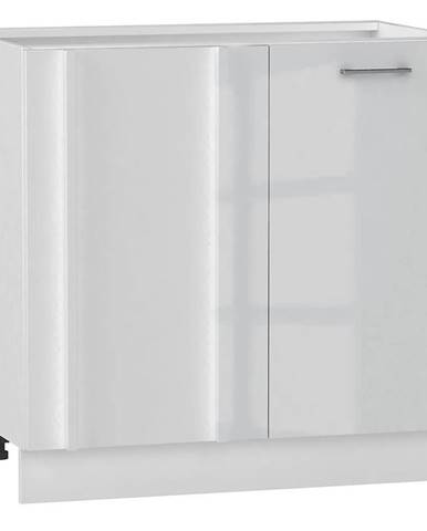 Skrinka do kuchyne Alvico DNP P/L luxe blanco BB
