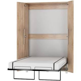 Sklápacia posteľ Teddy 120 sonoma