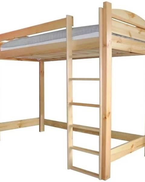 MERKURY MARKET Poschodová posteľ I borovica