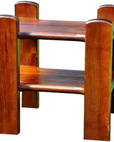 Nočný stolík hnedy