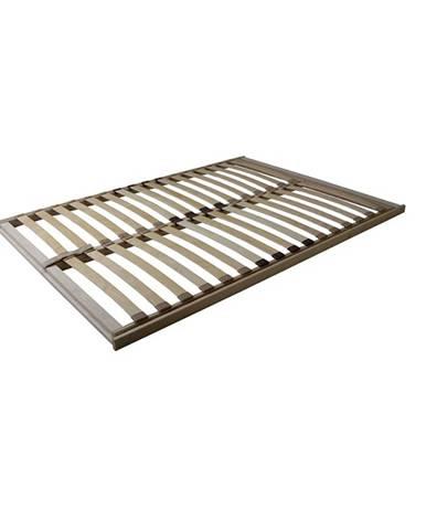 Basic Flex Front lamelový rošt 120x200 cm ohýbané brezové drevo