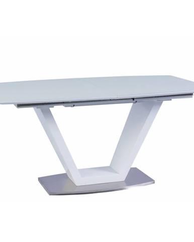 Perak rozkladací jedálenský stôl biela