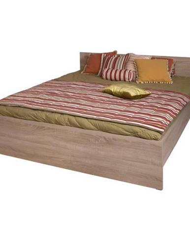 Grand 20 160 manželská posteľ dub sonoma