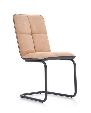 K268 jedálenská stolička svetlohnedá