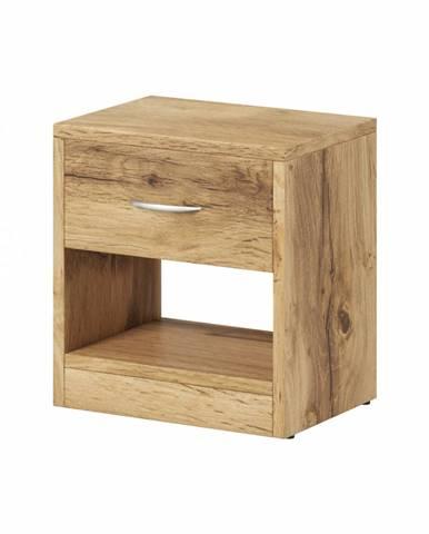 Naka 1S nočný stolík dub wotan