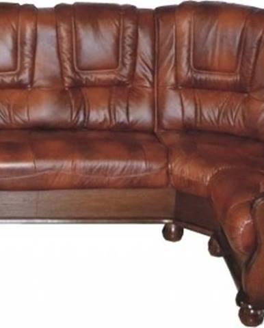 Roma P kožená rohová sedačka D3