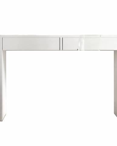 Violet toaletný stolík biela