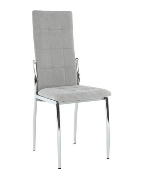 Kondela Adora New jedálenská stolička sivá