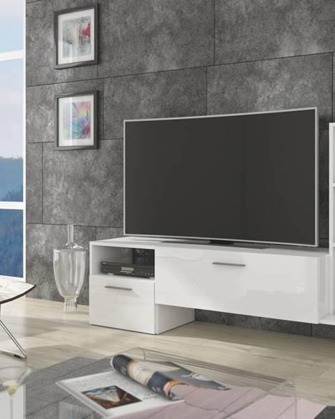 MEBLOCROSS Best tv stolík biela