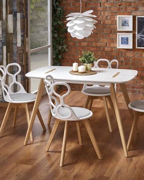 Halmar David jedálenský stôl biela