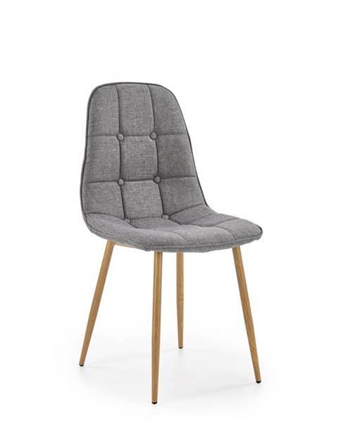 Halmar K316 jedálenská stolička sivá