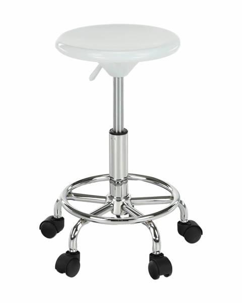 Tempo Kondela Mabel 3 New stolička na kolieskach biela