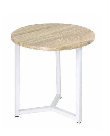 Celini okrúhly príručný stolík dub