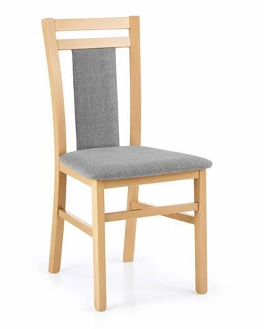 Hubert 8 jedálenská stolička dub medový