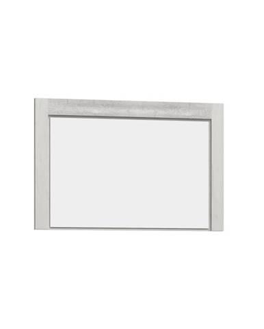 Infinity 12 zrkadlo na stenu jaseň biely
