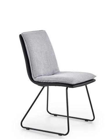 K326 jedálenská stolička svetlosivá