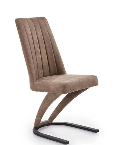 K338 jedálenská stolička hnedá