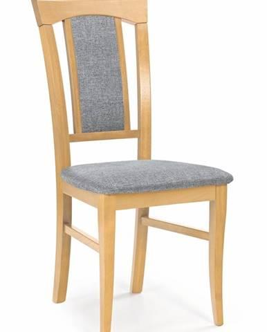 Konrad jedálenská stolička dub medový