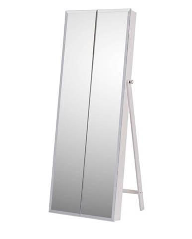 Oneon stojace zrkadlo biela