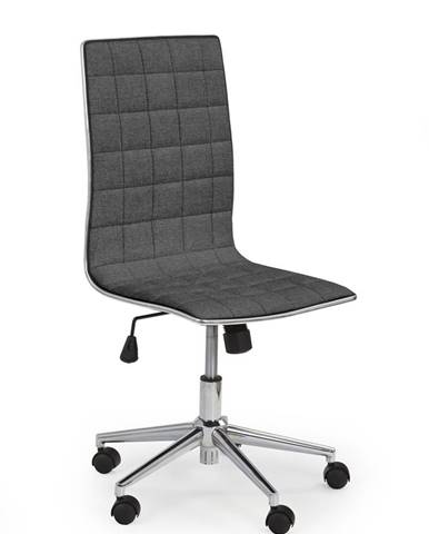 Tirol 2 kancelárska stolička tmavosivá
