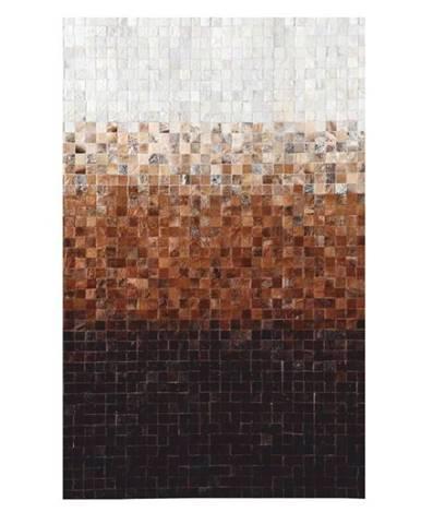 Typ 7 kožený koberec 170x240 cm vzor patchwork