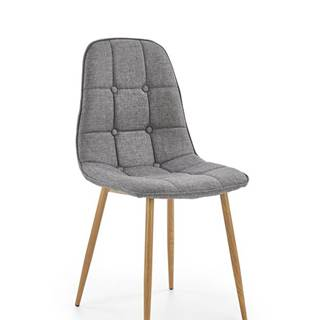 K316 jedálenská stolička sivá