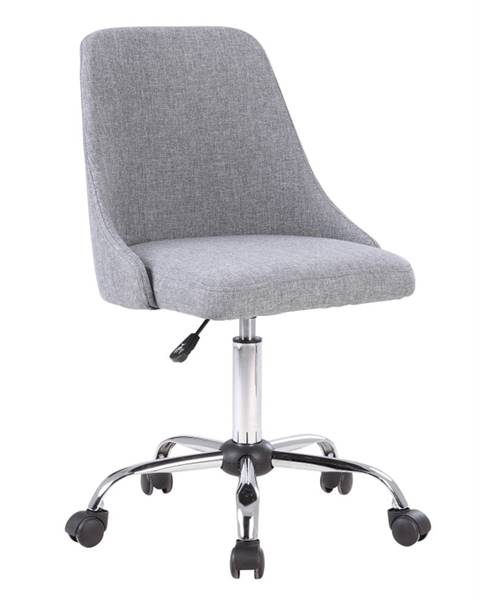 Tempo Kondela Ediz kancelárska stolička sivá