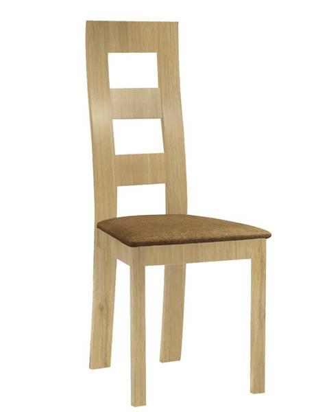 Tempo Kondela Farna jedálenská stolička svetlohnedá