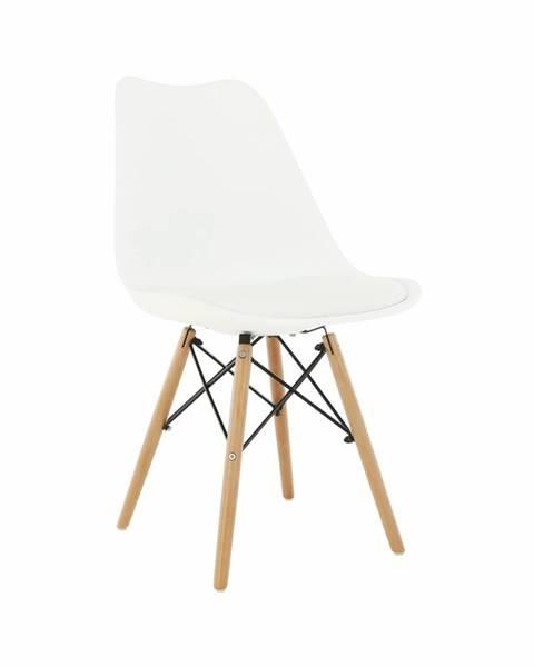 Tempo Kondela Kemal New jedálenská stolička biela