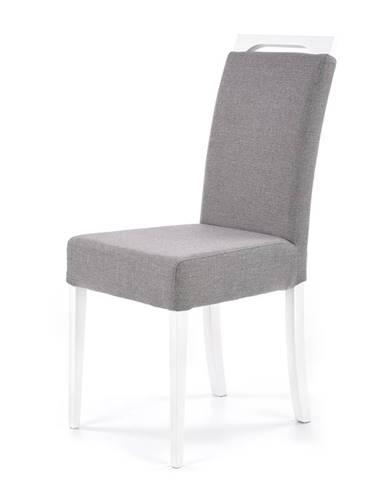 Clarion jedálenská stolička biela