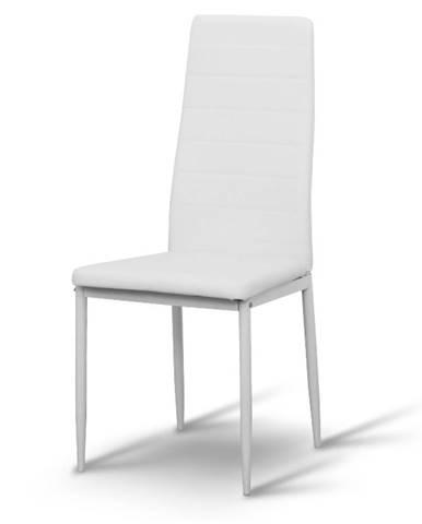 Coleta Nova jedálenská stolička biela