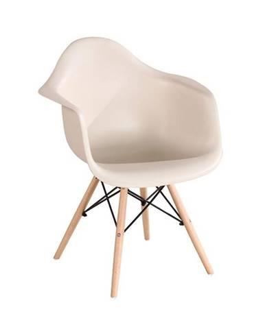 Damen New jedálenská stolička cappuccino