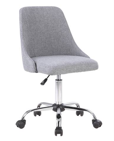 Ediz kancelárska stolička sivá