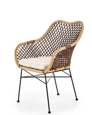 K336 jedálenská stolička prírodná